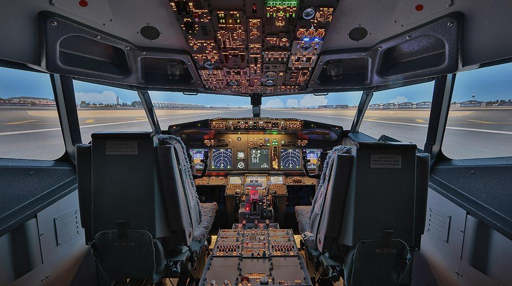 European Flight Simulator - Simulateur de vol de Boeing 737